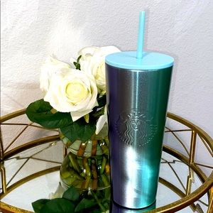 Starbucks Teal Ombré Insulated Tumbler Cold Cup